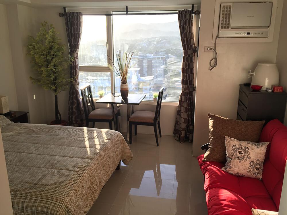 Calyx Centre Studio Condominium Unit for Rent 19th Floor