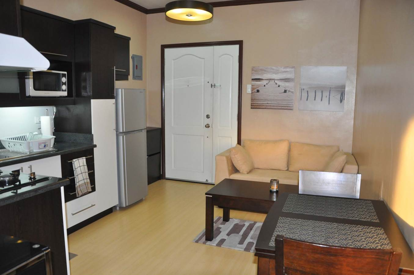 Palaciego uno fully furnished 1 bedroom condo unit for for Interior designs for condo units