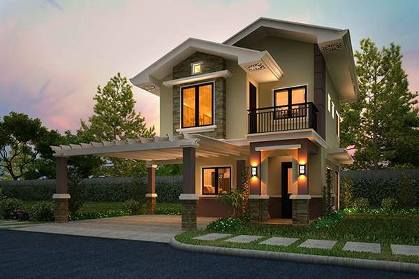 Modern mediterranean house designs philippines home for Simple mediterranean house design
