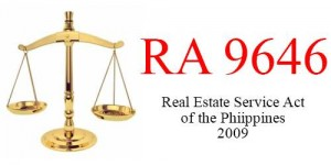 RA 9646 RESA Law real estate service act of the philippines