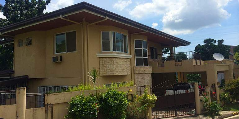 Pin Shot Of House Lot For Rent In Sunny Hills Cebu City