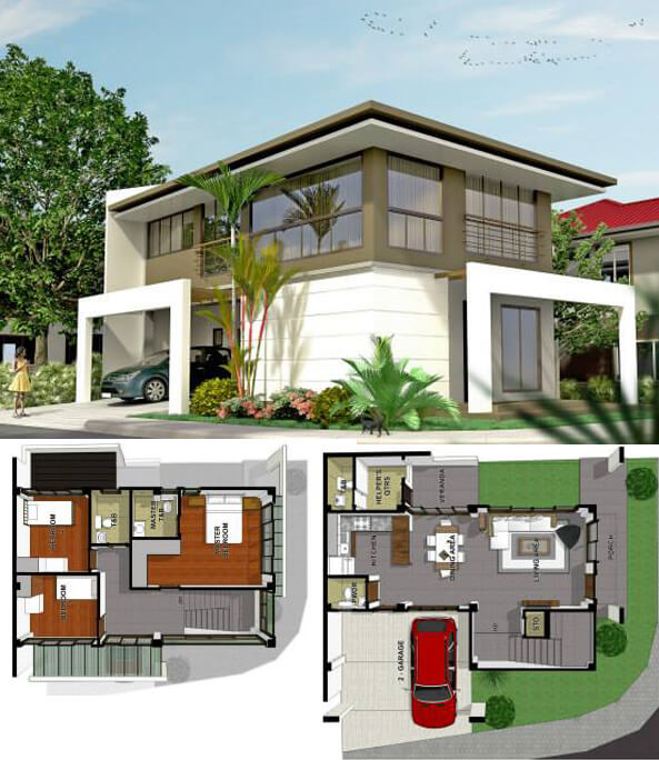 Luxuria-at-Josefa-Country-Homes-Banawa-Block4-Lot1-Corner Unit-house-for-sale