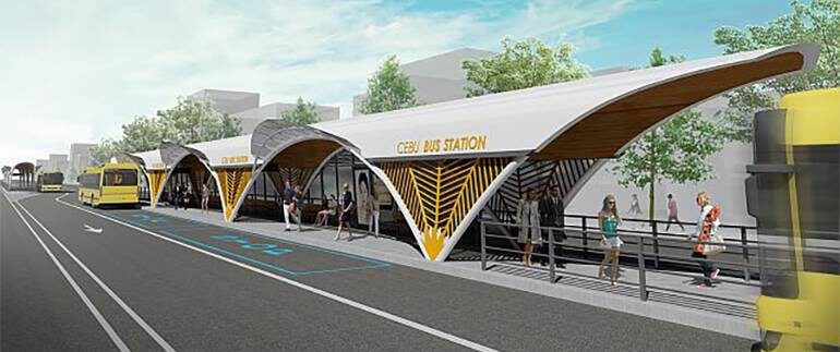 Cebu City Hall Unveils BRT Terminal Design